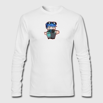 DanTDM Youtube Fans - Men's Long Sleeve T-Shirt by Next Level