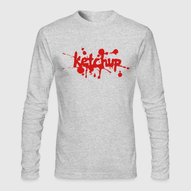 ketchup - Men's Long Sleeve T-Shirt by Next Level