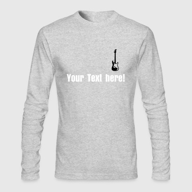 bass - Men's Long Sleeve T-Shirt by Next Level
