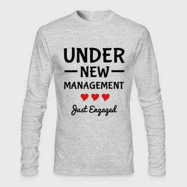 Engaged - Men's Long Sleeve T-Shirt by Next Level