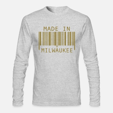 Milwaukee Made in Milwaukee - Men's Long Sleeve T-Shirt by Next Level
