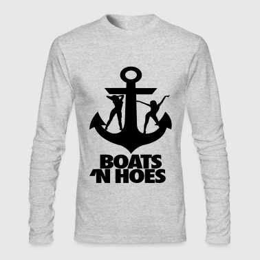 Boats N Hoes - Men's Long Sleeve T-Shirt by Next Level