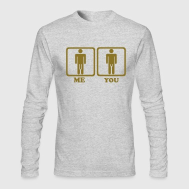 Penis - Men's Long Sleeve T-Shirt by Next Level