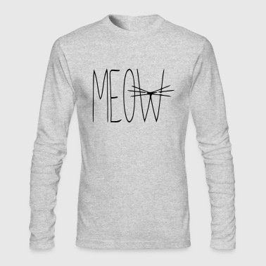 MEOW CAT - Men's Long Sleeve T-Shirt by Next Level