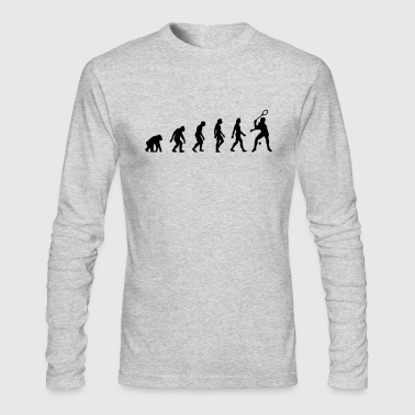 The Evolution of Squash - Men's Long Sleeve T-Shirt by Next Level