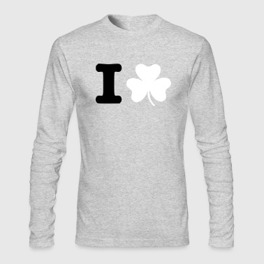 Shamrock - Men's Long Sleeve T-Shirt by Next Level