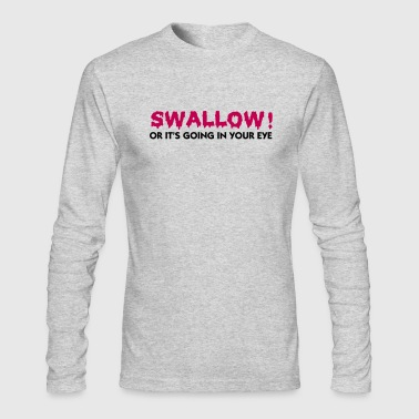 Swallow (2c) - Men's Long Sleeve T-Shirt by Next Level