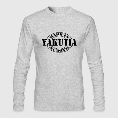 made_in_yakutia_m1 - Men's Long Sleeve T-Shirt by Next Level