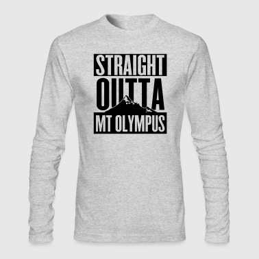 Straight Outta Mt Olympus - Men's Long Sleeve T-Shirt by Next Level