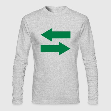 Arrows - Men's Long Sleeve T-Shirt by Next Level