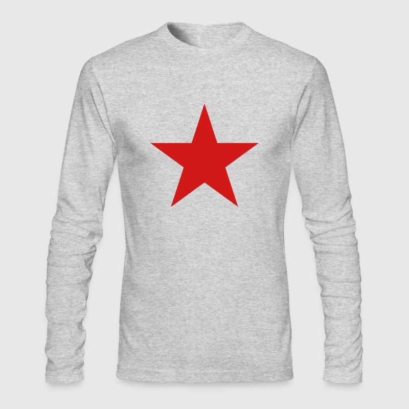 Communist Red Star - Men's Long Sleeve T-Shirt by Next Level