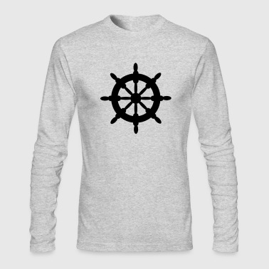 steering wheel - Men's Long Sleeve T-Shirt by Next Level