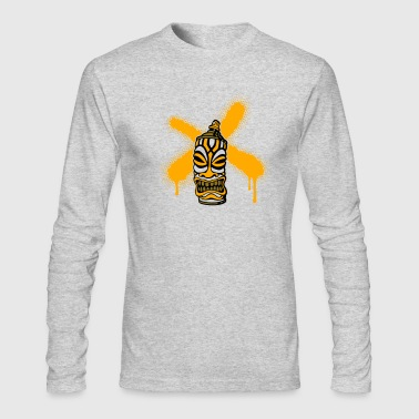 SPRAY A CROSS TIKI (P) by toneyshirts - Men's Long Sleeve T-Shirt by Next Level