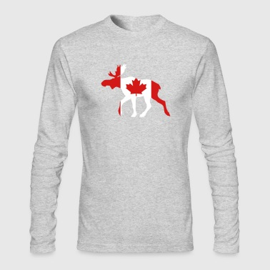 Canadian Moose - Men's Long Sleeve T-Shirt by Next Level