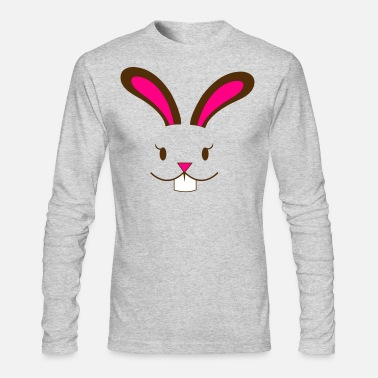 Playboy easter bunny rabbit girl - Men's Long Sleeve T-Shirt by Next Level