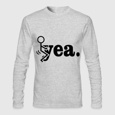 Fuck Yeah - Men's Long Sleeve T-Shirt by Next Level