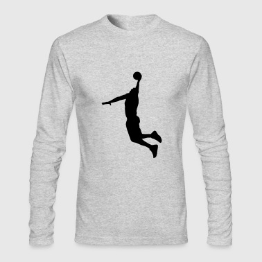 Basketball Player - Men's Long Sleeve T-Shirt by Next Level