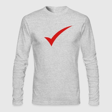a tick - Men's Long Sleeve T-Shirt by Next Level