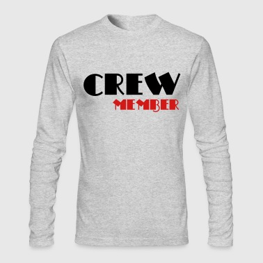 Crew Member - Men's Long Sleeve T-Shirt by Next Level