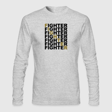 fighter - Men's Long Sleeve T-Shirt by Next Level