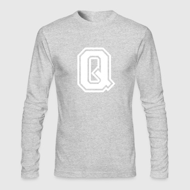 Letter Q - Men's Long Sleeve T-Shirt by Next Level