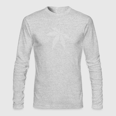 Cannabis/Marijuana Leaf (dots only) - Men's Long Sleeve T-Shirt by Next Level