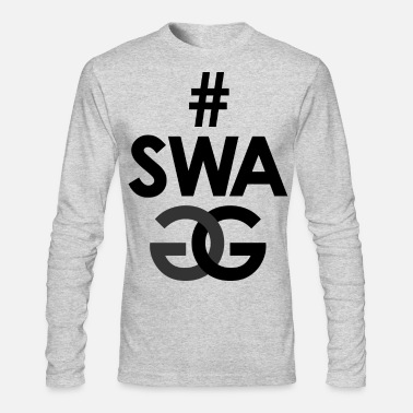 Swagg # SWAGG - Men's Long Sleeve T-Shirt by Next Level