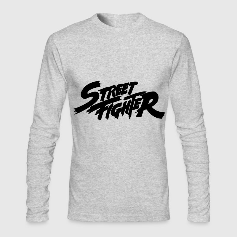 Street Fighter - Men's Long Sleeve T-Shirt by Next Level