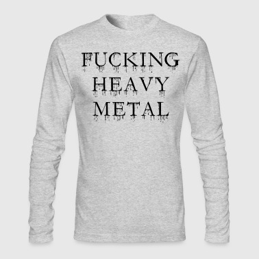 Heavy Metal heavy metal - Men's Long Sleeve T-Shirt by Next Level