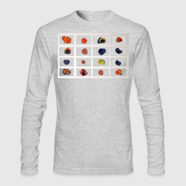 Coloured Nets - Men's Long Sleeve T-Shirt by Next Level
