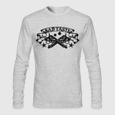 Crossed Revolver - Men's Long Sleeve T-Shirt by Next Level
