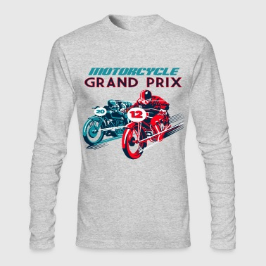 moto vintage - Men's Long Sleeve T-Shirt by Next Level