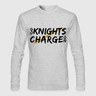 Go Knights Brushed - Men's Long Sleeve T-Shirt by Next Level