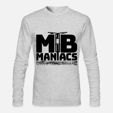Mountain Bike mtb maniacs - Men's Long Sleeve T-Shirt by Next Level