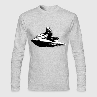 Jetski  -  Jet-ski - Boatercycle - Water scooter - Men's Long Sleeve T-Shirt by Next Level