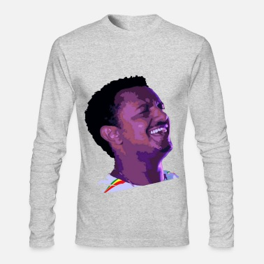 Afro Teddy Afro long Sleeve T-shirt - Men's Longsleeve Shirt