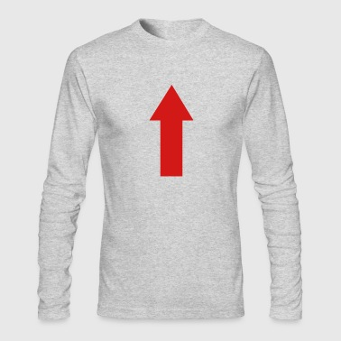 Arrow Arrow - Men's Long Sleeve T-Shirt by Next Level