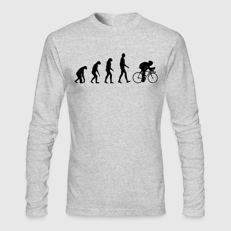 Evolution Bike, Cycling - Men's Long Sleeve T-Shirt by Next Level