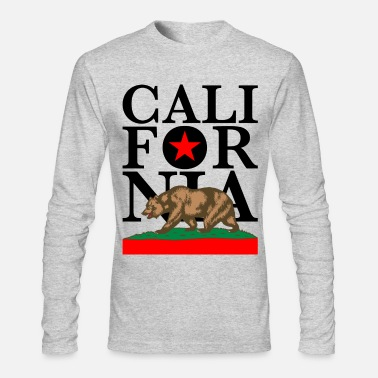 California California - Men's Long Sleeve T-Shirt by Next Level