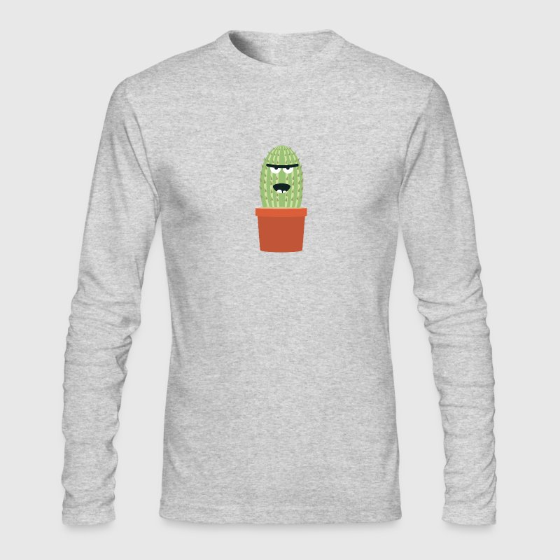 Angry cactus - Men's Long Sleeve T-Shirt by Next Level