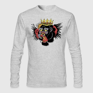 MCGREGOR CHEST TATTOO - Men's Long Sleeve T-Shirt by Next Level