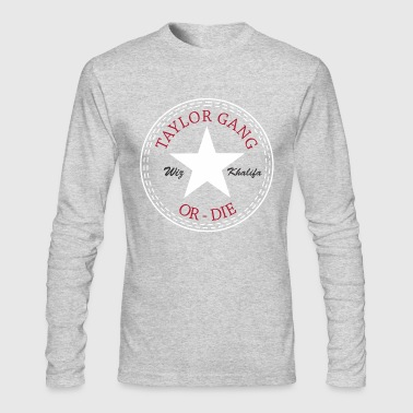 taylor gang - Men's Long Sleeve T-Shirt by Next Level
