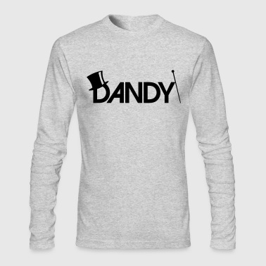 Dandy Gentleman - Men's Long Sleeve T-Shirt by Next Level