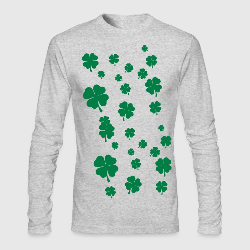 All over four leaf clover - Men's Long Sleeve T-Shirt by Next Level