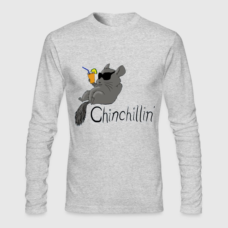 Chinchillin - Men's Long Sleeve T-Shirt by Next Level