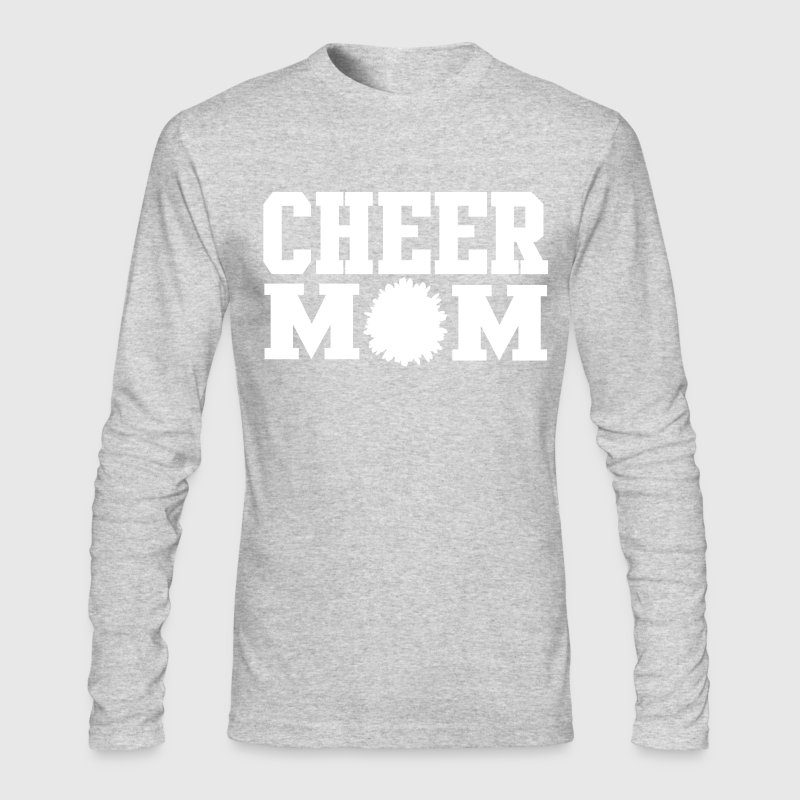 Cheer Mom Design - Men's Long Sleeve T-Shirt by Next Level