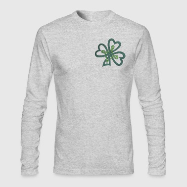 Irish Clover - Men's Long Sleeve T-Shirt by Next Level