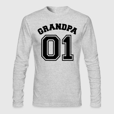 Grandpa 01 - Family reunion - xmas - Grandma -Baby - Men's Long Sleeve T-Shirt by Next Level