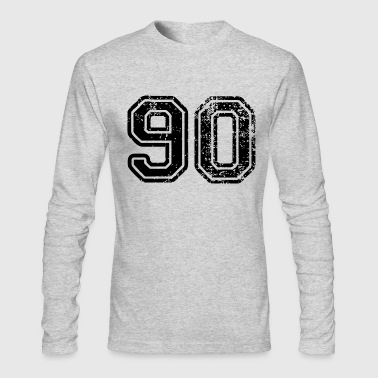 Ninety - Men's Long Sleeve T-Shirt by Next Level
