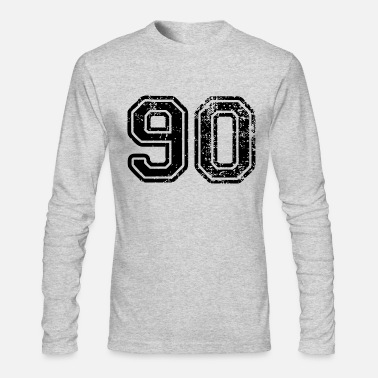 Nineties Ninety - Men's Long Sleeve T-Shirt by Next Level